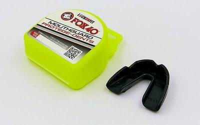 Капа боксерская односторонняя в футляре 5910 одночелюстная термопластик