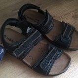 Летние кожаные сандалии Инблу Inblu, р. 41, стелька 26, 8см
