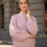 Женский теплый джемпер вязаный короткий свитер теплые женские кофты свитера вязаные джемпера гольф