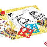 Набор для творчества Play-Doh - Ведро восковые карандаши, маркеры, масса для лепки, аксес.