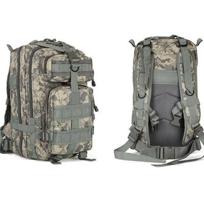 Тактический штурмовой рюкзак Abrams pixel grey