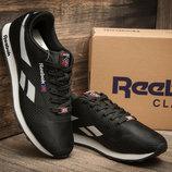 Кроссовки мужские Reebok Classic, черный, белый