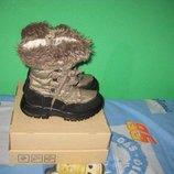 Сапоги ботинки термо Del мембрана Tex 32-33 размер по стельке 21 см.Кожаные, Зимние . Производитель