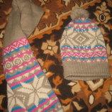 Комплект- шапочка шарфик
