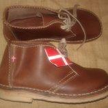 45р-29 см новые кожа вечная оригинальная обувь Duckfeet Дания