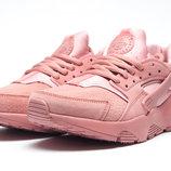 Кроссовки женские Nike Air Huarache,замша,розовый