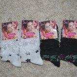 Женские носки, с кружевами р.35-40