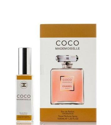 мини духи Chanel Coco Mademoiselle Eau De Parfum 40 мл в подарочной