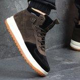 Кроссовки мужские замш Nike Lunar Force 1 brown