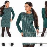 Эксклюзивное женское платье из Неопрена с перфорации 48, 50, 52, 54 размер