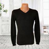Мужской черный свитер, пуловер р.S Takko Fashion Германия