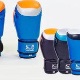 Перчатки боксерские на липучке Bad Boy 5433 10-12 унций, кожа