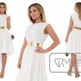 Платье женское, лето, белое, в наличии 52р