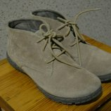 Кожаные замшевые ботинки Tamaris.39.
