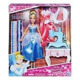 Набор кукла принцесса Золушка с аксессуарами Disney princess Cinderella's stamp 'n design