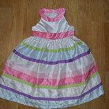 Платье нарядное на 5-6 лет Gymboree