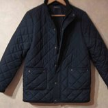Новая темно-синяя куртка весна осень весенняя In Extenso р.S утепленная для подростка мужская