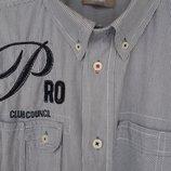 Распродажа. Рубашка бренда WE с принтом и нашивкой. L. Бу