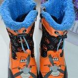 Зимние ботинки Planes Disney Германия р. 26 по стельке 16,5 см