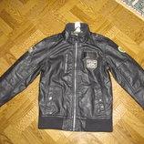 Куртка кожаная на мальчика р-122 StarWars