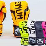 Перчатки боксерские на липучке Venum 5698 6-14 унций, PU 5 цветов