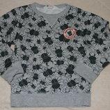 кофта свитер мальчику свитшот двунить на байке Нм 5 - 6 лет большой выбор одежды 1-16лет