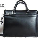 Мужская сумка-портфель Polo под формат А4 сумка для документов Кс37