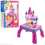 Конструктор JIXIN PRINCESS замок принцессы, Королевство игровой столик,76 деталей