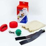 Тренажер для бокса с накладками для рук Fight Ball 5646 размер L/XL 5-12лет/12-16лет