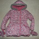 куртка зима холодная осень georg девочке 5-6лет