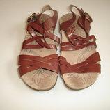 Кожаные босоножки сандалии Hush Puppies, р 6 UK стелька 25,5 см вся длина