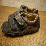 Модные фирменные кроссовочки из натур. кожи, Elefanten,р.18