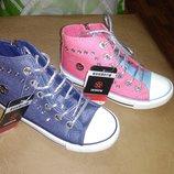 Высокие кеды 31-37 р. под джинс, текстиль, ботинки, кеди, мокасины, хайтопы, весенние, осенние