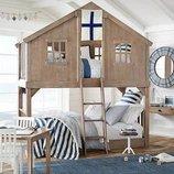 Двухъярусная кровать-домик Айболит