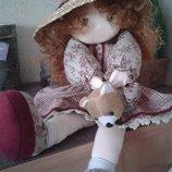 Интерьерная музакальная кукла