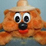 Мягкая игрушка Смешарик медведь Копатыч 21 см