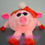 Мягкая игрушка Смешарик девочка-поросёнок Нюша 20 см