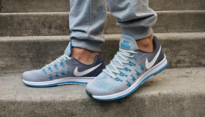 Кроссовки летние Nike Zoom Pegasus 33 GreyBlue.