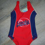 E-vie,Англия красный купальник для плавания 3-4 года