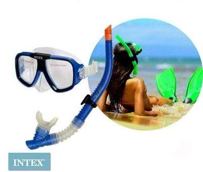 Маска с трубкой, для подводного плаванья, intex, маска, трубка с клапаном, качественная, незапотевае