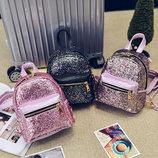 Супер стильный городской рюкзак в блестках