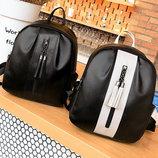 Элегантный городской рюкзак с молнией и кисточками