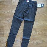 Стильные школьные узкие брюки для девочки/ брючки классические штаны