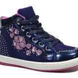 Ботинки деми для девочки Clibee арт.N163 blue с 25-29 р