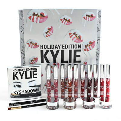 Набор «Kylie Holiday Edition Box» набор косметики помада тени блеск лучший подарок для любимой