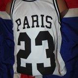 Фирменная стильная майка баскетбол бренд Mister Tee Germany s-m