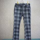 Брюки р.46-48 FISHBONE size S стрейчевые штаны джинсы женские