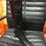 кожаные деми сапожки от gabor, 26,5 см