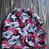 набор из шапки и шарфа для девочки 4-6 лет