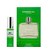 Мини парфюм Lacoste Essential 40 мл в подарочной упаковке для мужчин